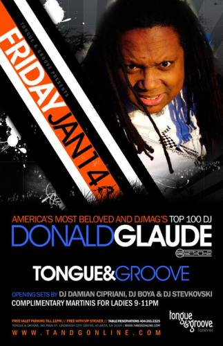 Donald Glaude @ Tongue & Groove