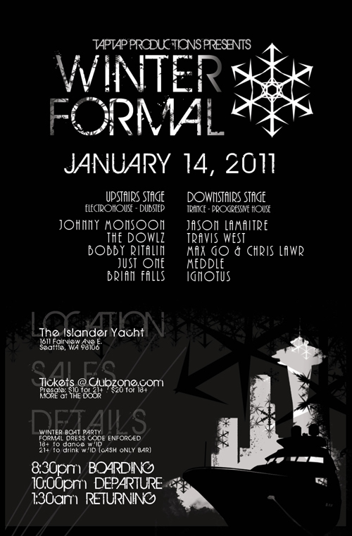 seattle winter party tickets