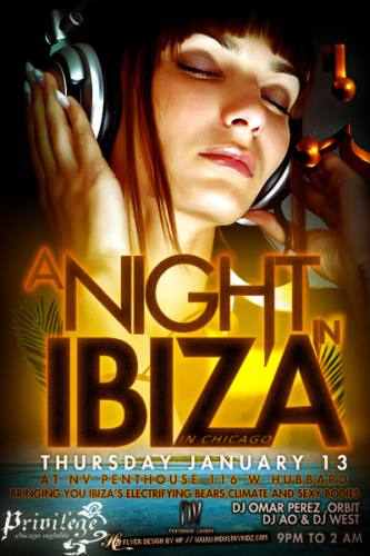 A Night in Ibiza at NV Penthouse