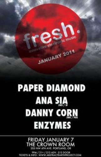 JAN FRESH. w/ Paper Diamond, Ana Sia, Danny Corn & More