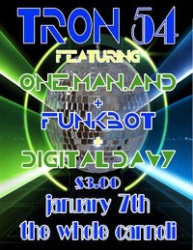 DigitalFunkyRobots Vol3: TRON54