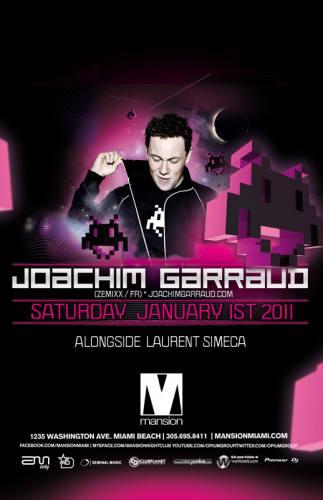 Joachim Garraud @ Mansion