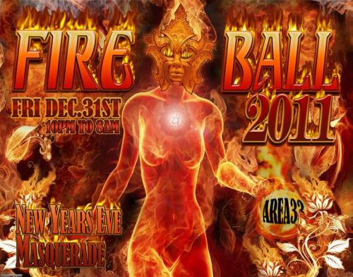 Area 33 New Years Eve Masquerade Fire Ball With David Starfire