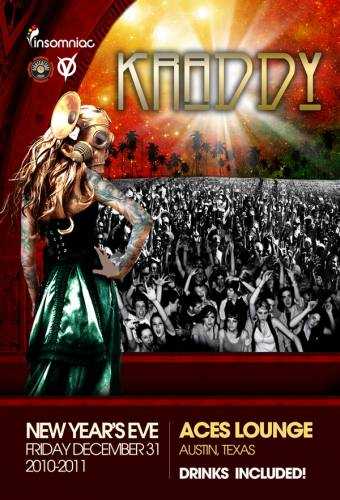 NYE 2011 w/ Kraddy