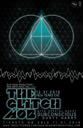 The Glitch Mob @ New Earth Music Hall (12/31)
