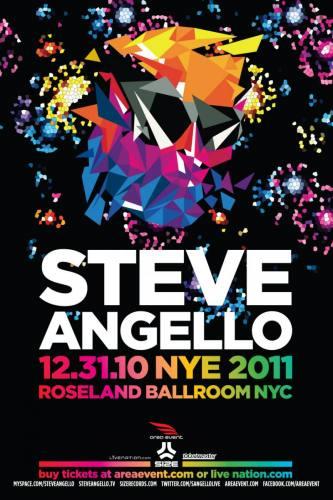 Steve Angello NYE 2011 @ Roseland Ballroom