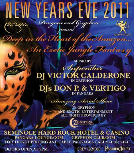 NYE 2011 Deep in the Heart of the Amazon with Victor Calderone