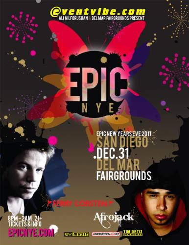 Epic New Years Eve San Diego