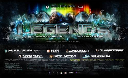 LEGENDS NYE 2011