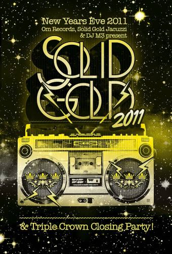 Solid Gold NYE & Triple Crown Closing Party