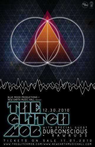 The Glitch Mob @ New Earth Music Hall (12/30)