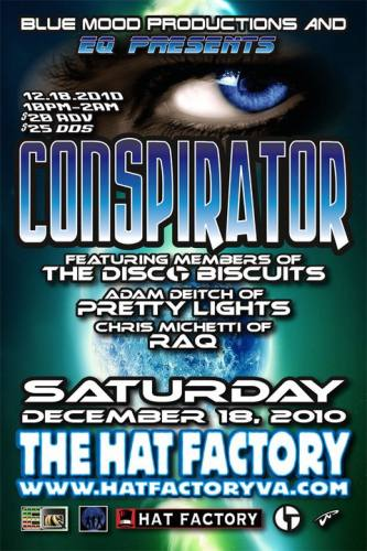 Conspirator @ Hat Factory