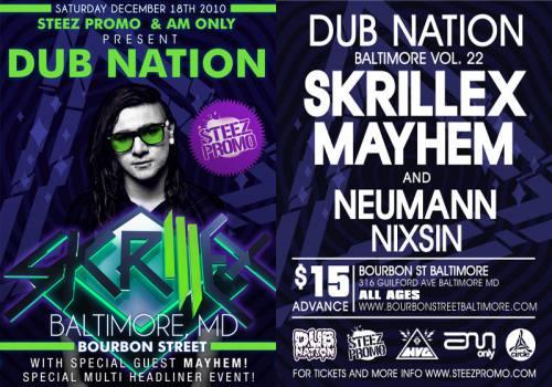 DUB NATION VOL. 22 feat. SKRILLEX & MAYHEM