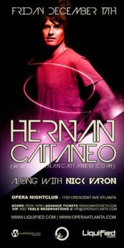 Hernan Cattaneo @ Opera