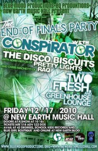 Conspirator @ New Earth Music Hall