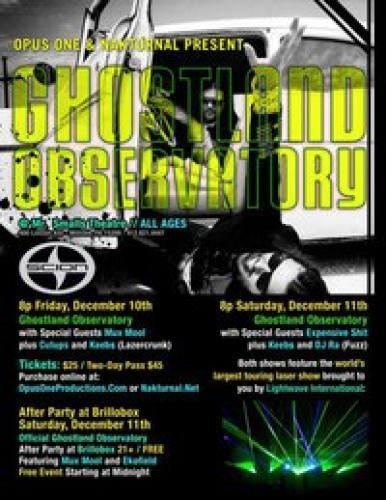 Ghostland Observatory @ Mr. Small's (12/11)