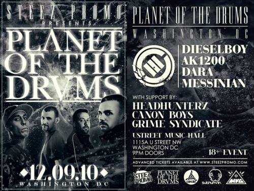 Steez Promo Presents Planet of the Drums