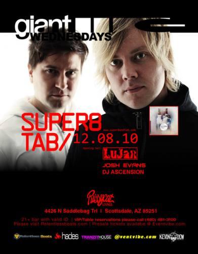 Super 8 & Tab w Lujan @ GIANT WEDNESDAYS