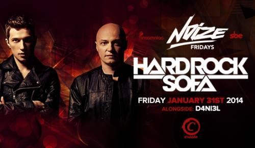HardRockSofa at Create nightclub