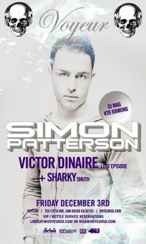 Simon Patterson + Victor Dinaire @ Voyeur