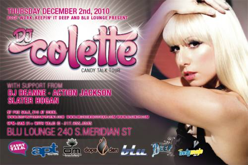 DJ Colette @ Blu Lounge