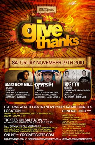GIVE THANKS 2010