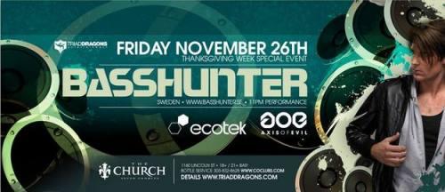 Basshunter @ The Church