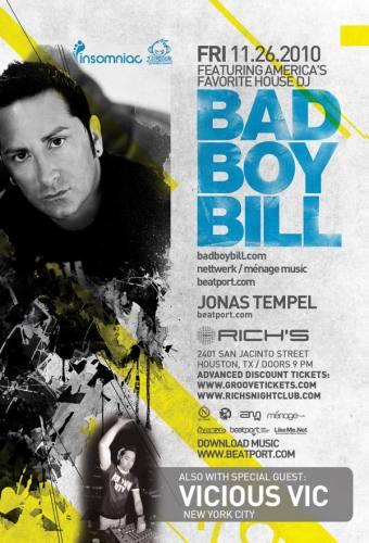 Bad Boy Bill @ Rich's