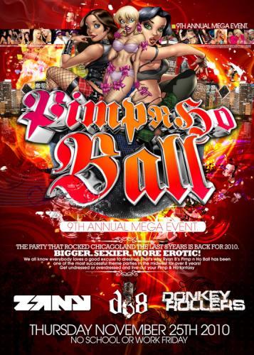 PIMP AND HO BALL 2010