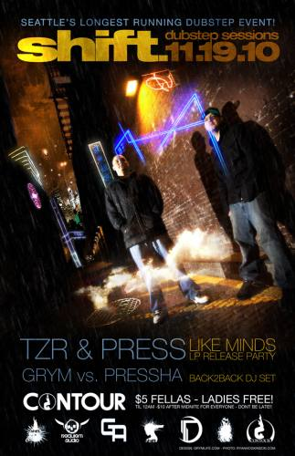 Shift Dubstep Sessions - Like Minds EP Release Party