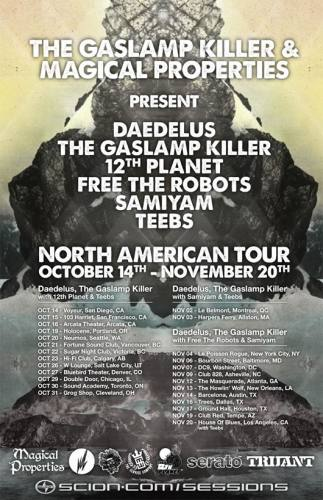 Gaslamp Killer, Daedelus, & More @ Howlin' Woof