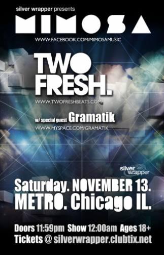 Mimosa & Two Fresh @ Metro (11/13)
