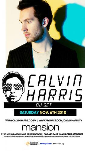 Calvin Harris @ Mansion