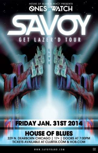 1.31 Savoy at House of Blues Chicago