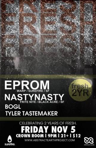 EPROM & NastyNasty @ Crown Room