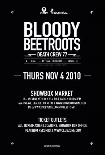 The Bloody Beetroots @ Showbox at the Market