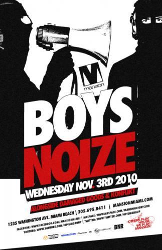 Boys Noize @ Mansion