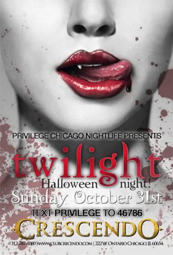 Twilight Halloween Bash at Sunday Crescendo