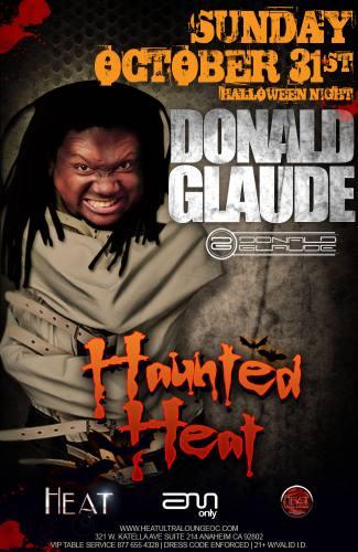 HAUNTED HEAT FEATURING DONALD GLAUDE