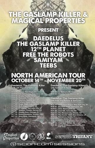 Gaslamp Killer, Daedelus, & More @ Grog Shop