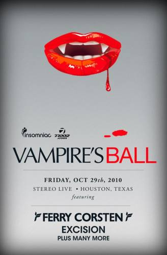 Vampire's Ball w/ Ferry Corsten at Stereo Live