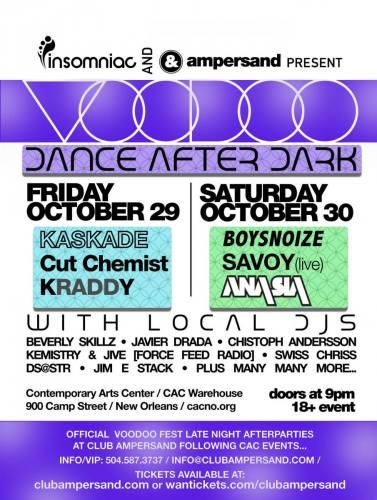 VOODOO DANCE AFTER DARK (10/29)