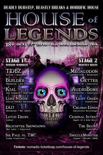 House of Legends - TDBZ, Megalodon, Getter, LotusDrops, KIAL, Builder