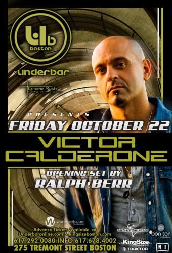 Victor Calderone @ Underbar