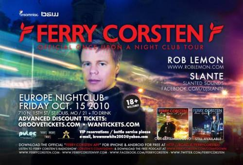 Ferry Corsten @ Europe Nightclub