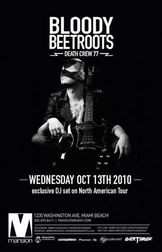 The Bloody Beetroots (DJ Set) @ Mansion
