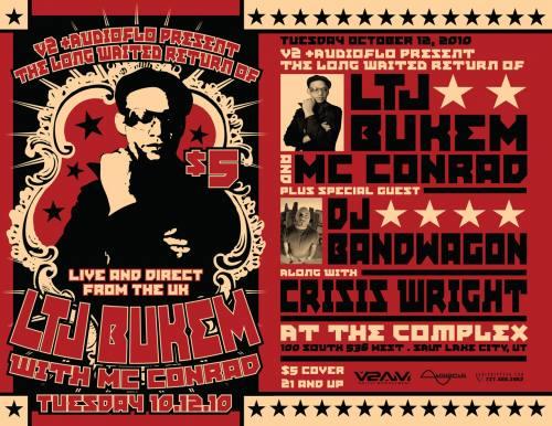 LTJ Bukem w/ MC Conrad @ The Complex
