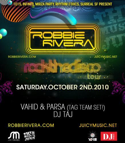 Robbie Rivera @ 1015 (10/2)