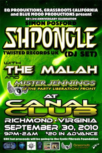 Shpongle @ The Canal Club