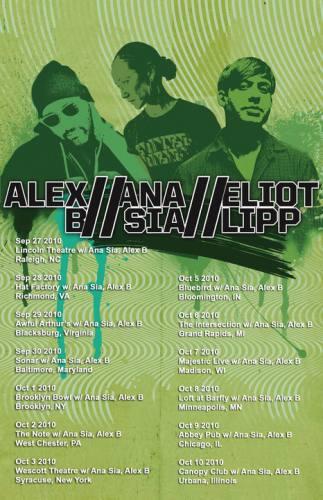 Eliot Lipp, Ana Sia, and Alex B @ Sonar